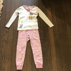 Hanna Andersson Girls Long John Pajamas
